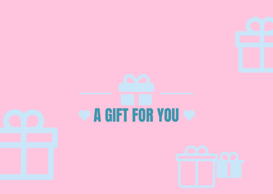 Gift Card template: Candy Tone Gift Card (Created by InfoART's Gift Card marker)