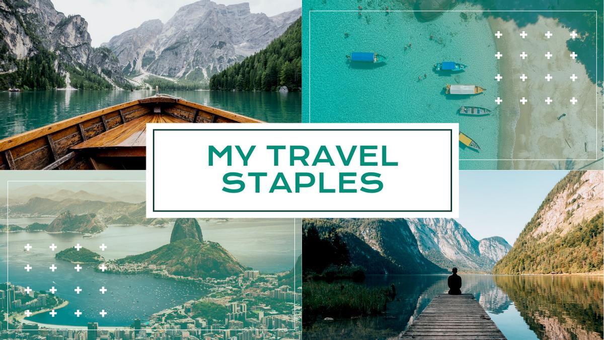 YouTube Thumbnail template: My Travel Staples YouTube Thumbnail (Created by InfoART's YouTube Thumbnail maker)