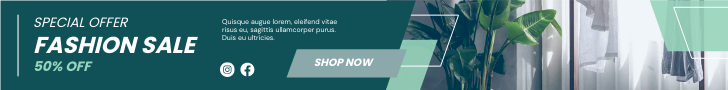 Banner Ad template: Special Offer Fashion Sale Banner Ad (Created by InfoART's Banner Ad maker)
