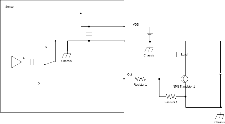 Motion Sensor (Wiring Diagram Example)