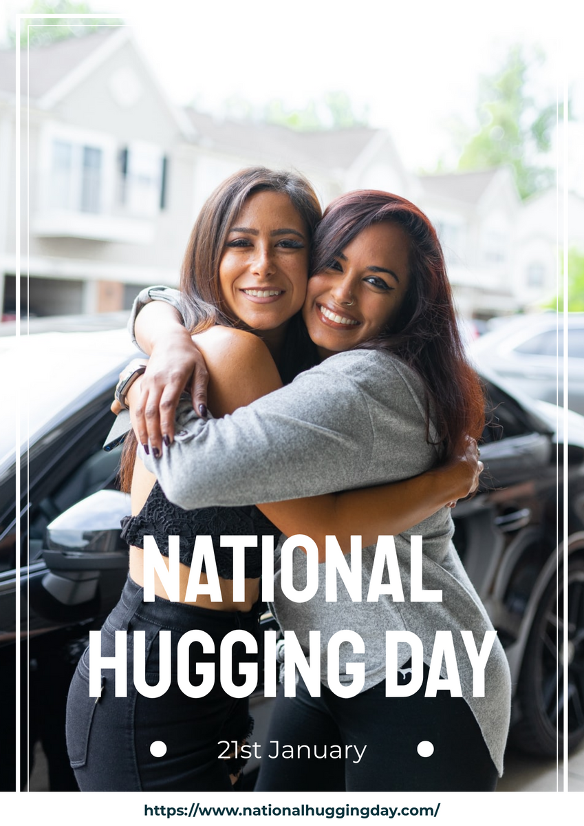 Poster template: National Hugging Day Poster (Created by InfoART's Poster maker)