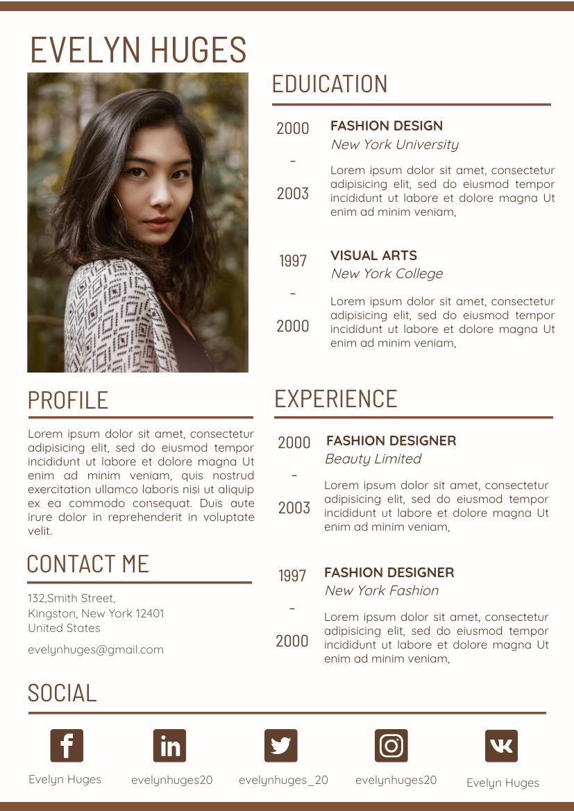 Brown Resume