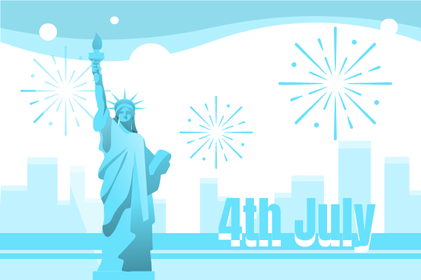 Festival Illustration template: Independence Day (Created by Scenarios's Festival Illustration maker)