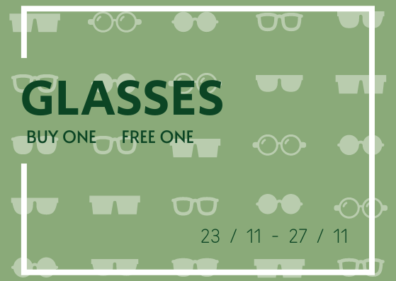Gift Card template: Glasses 1for1 Gift Card (Created by InfoART's Gift Card marker)