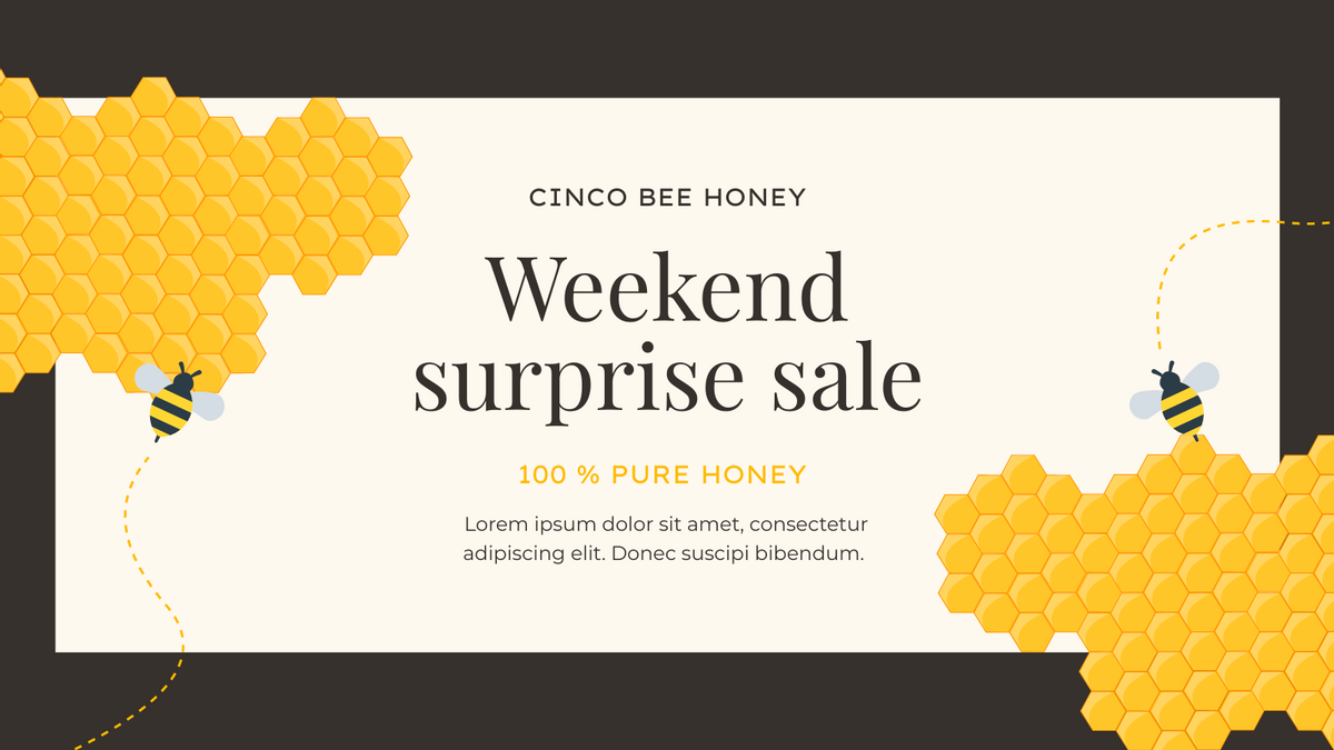 Twitter Post template: Honey Product Promotion Twitter Post (Created by InfoART's Twitter Post maker)