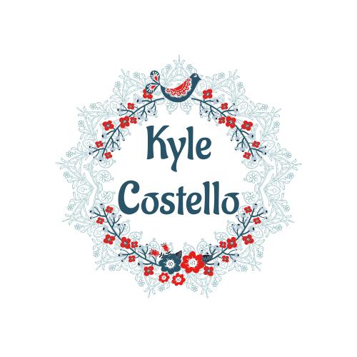 Logo template: Kyle Costello Logo (Created by InfoART's Logo maker)