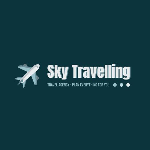 Logo template: Plane Logo Generated For Travel Agency  (Created by InfoART's Logo maker)