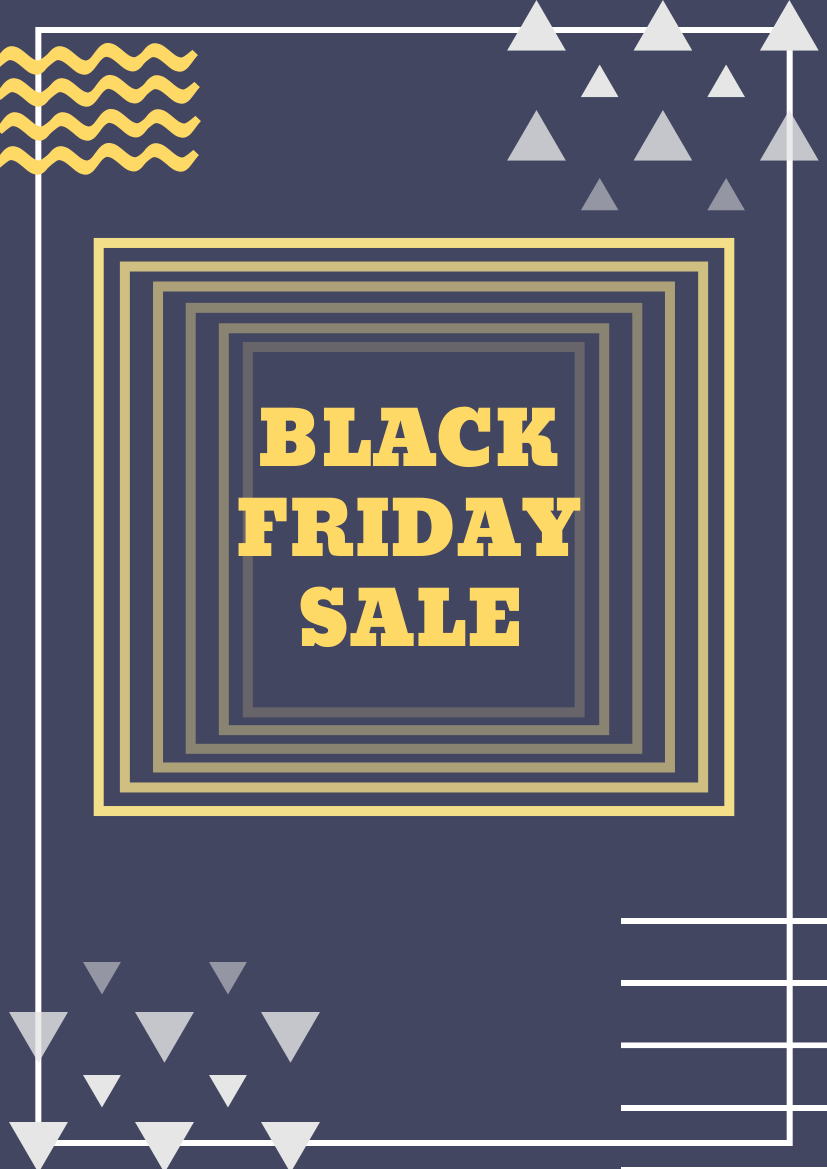 Flyer template: Black Friday Flyer (Created by InfoART's Flyer maker)