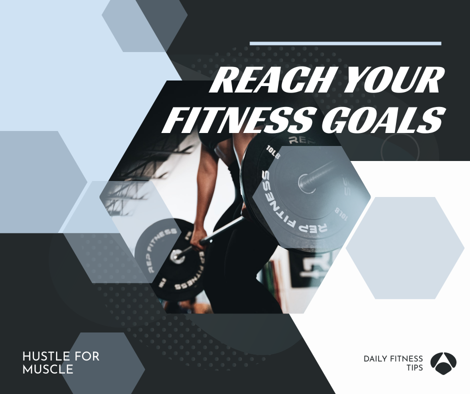 Facebook Post template: Daily Fitness Tips Fitness Goals Facebook Post (Created by InfoART's Facebook Post maker)