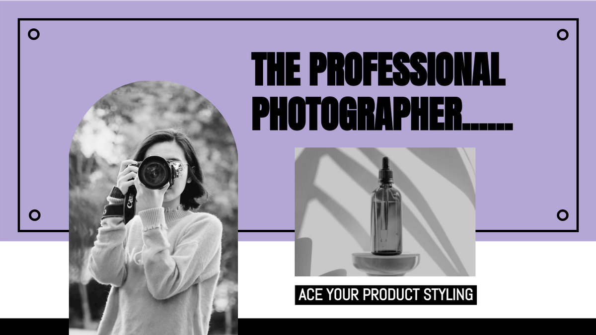 YouTube Thumbnail template: Product Styling Photography YouTube Thumbnail (Created by InfoART's YouTube Thumbnail maker)