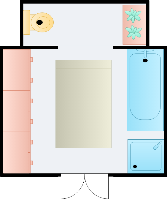 Bathroom Sections (Bathroom Example)