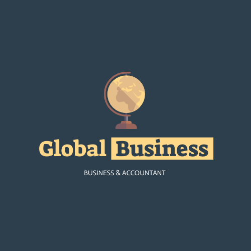Logo template: Earth Logo Generated For Global Business And Accounting Company (Created by InfoART's Logo maker)