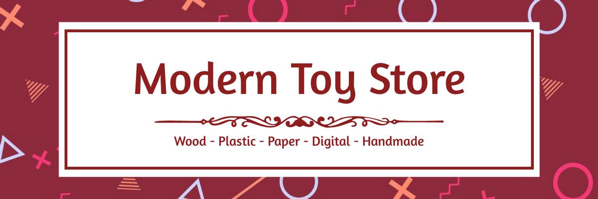 Twitter Header template: Toy Store Twitter Header (Created by InfoART's Twitter Header maker)