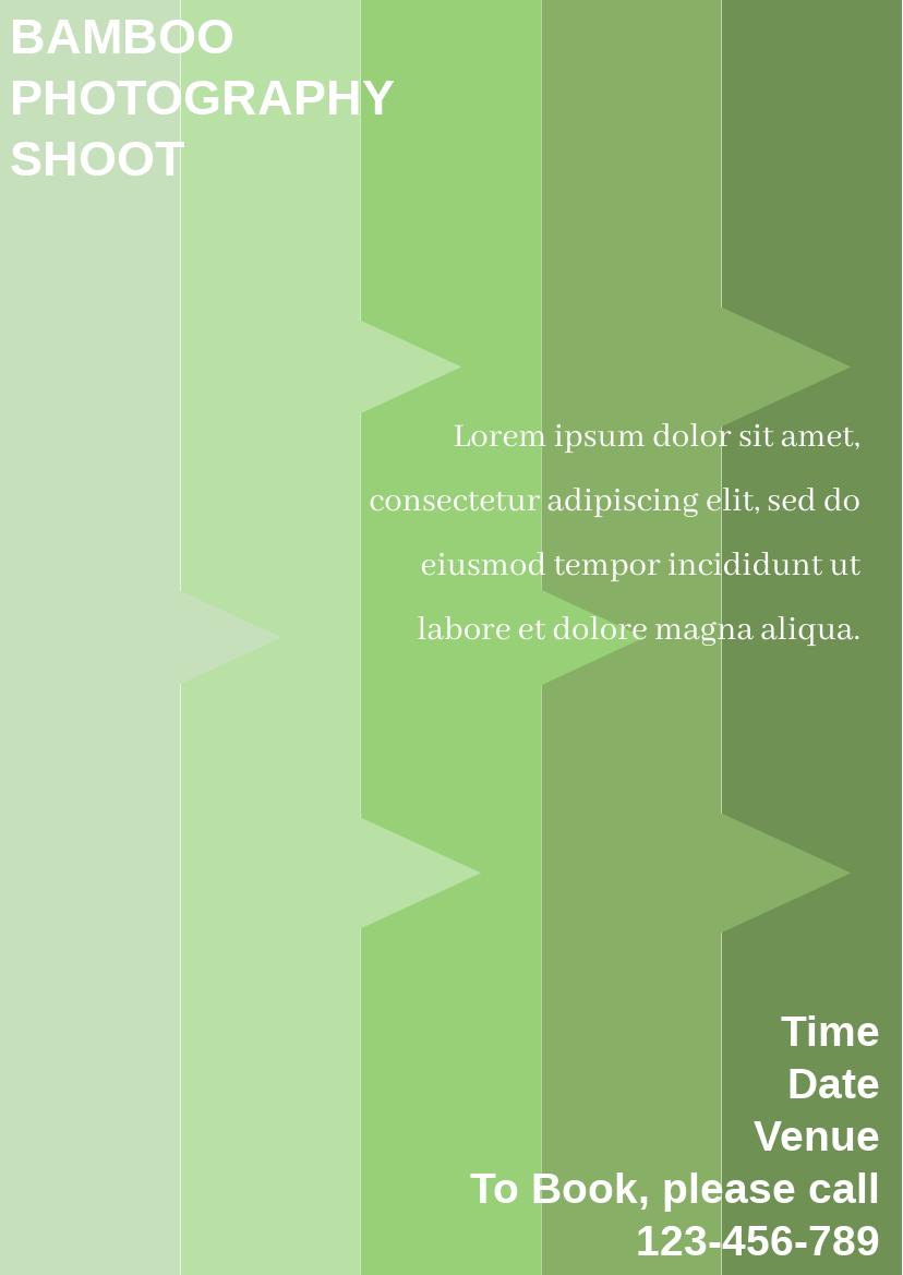 Flyer template: Gradient Flyer (Created by InfoART's Flyer maker)