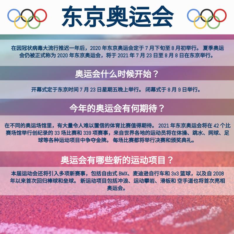信息图表 template: 2021年东京奥运会信息图表 (Created by InfoART's 信息图表 maker)
