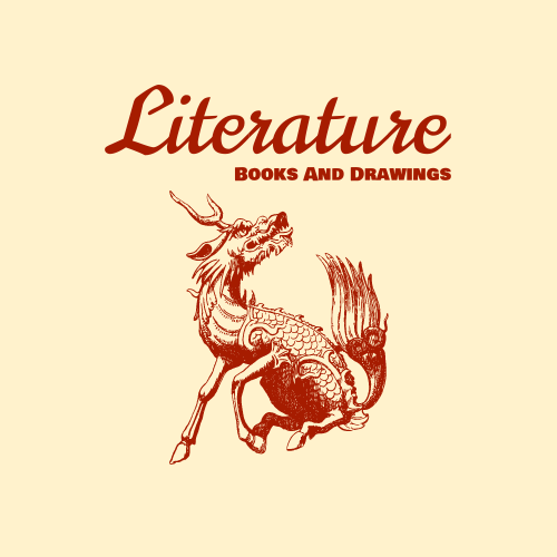 Logo template: Elaphurus Davidianus Logo Created For Store Selling Chinese Literature Goods (Created by InfoART's Logo maker)