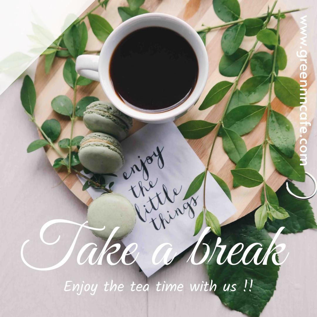 Instagram Post template: Take A Break Instagram Post (Created by InfoART's Instagram Post maker)