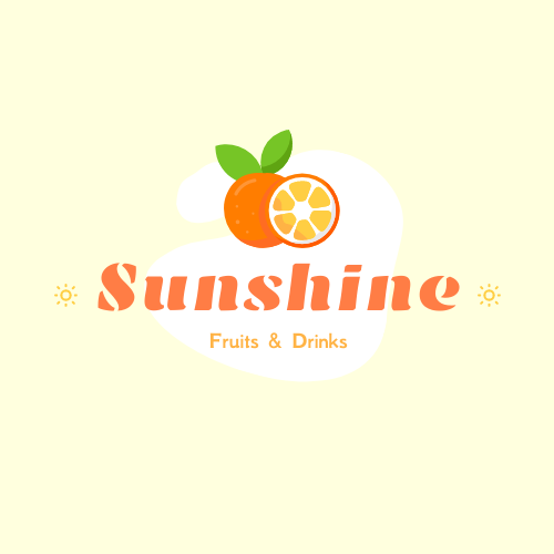 Logo template: Colourful Logo Generated For Store Selling Fruit And Drinks (Created by InfoART's Logo maker)