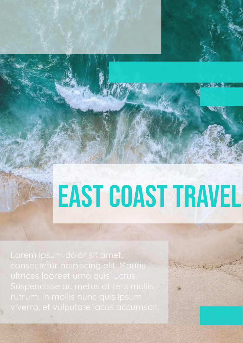 Poster template: Traveling Poster (Created by InfoART's Poster maker)