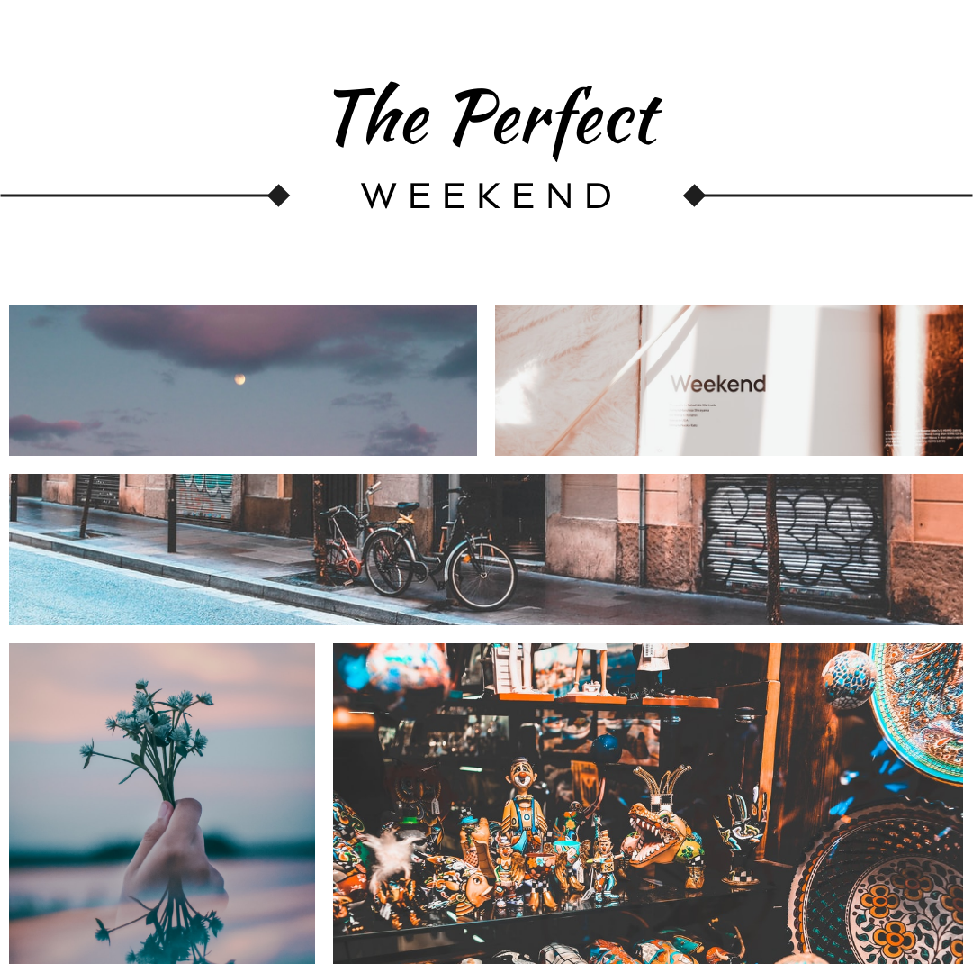 Photo Collage template: The Perfect Weekend Photo Collage (Created by Collage's Photo Collage maker)