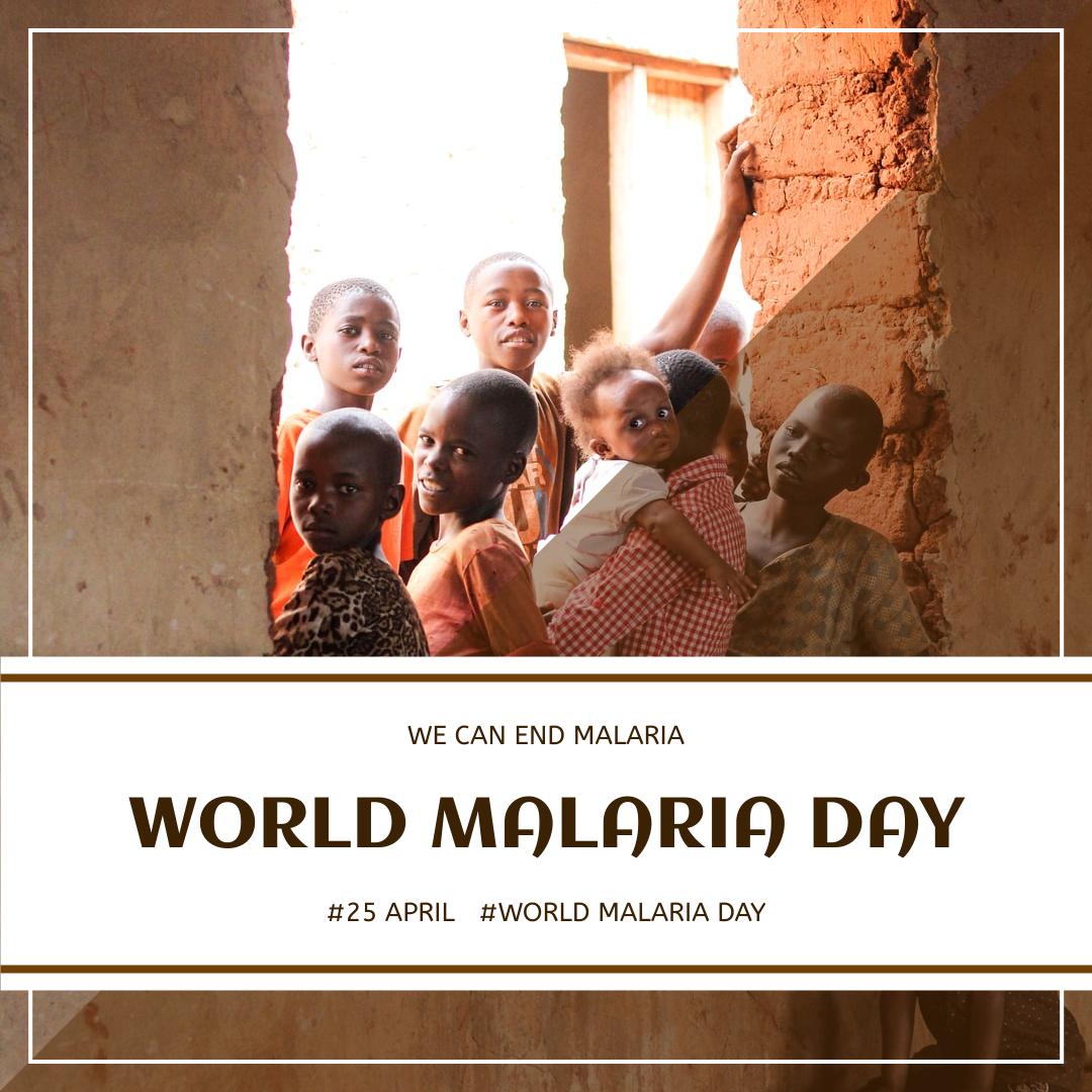 Instagram Post template: Africa Children World Malaria Day Instagram Post (Created by InfoART's Instagram Post maker)