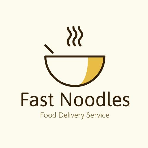 Logo template: Fast Noodles Logo (Created by InfoART's Logo maker)