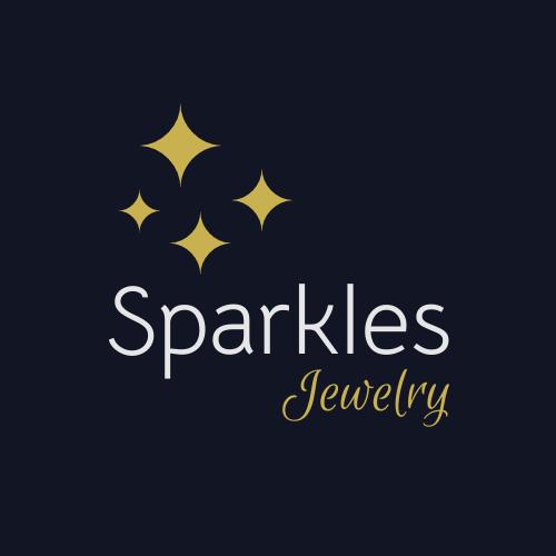 Logo template: Sparkles Jewelry Logo (Created by InfoART's Logo maker)