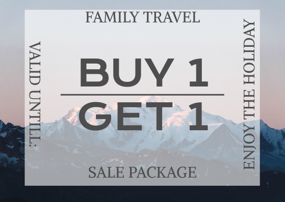 Gift Card template: Travel Gift Card (Created by InfoART's Gift Card marker)