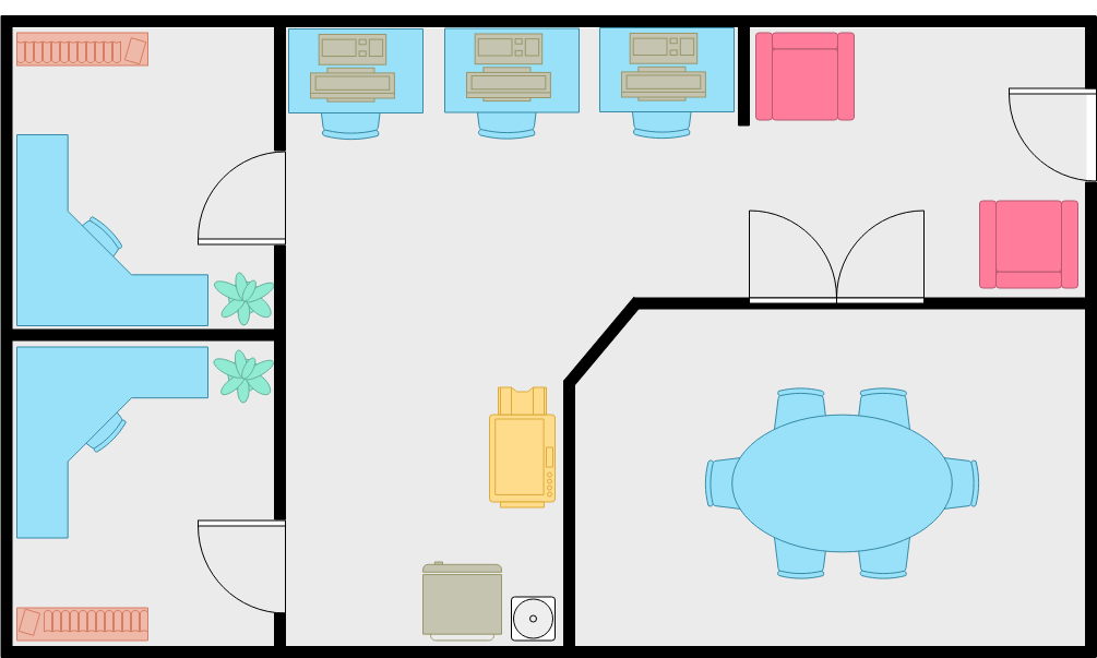 Starter Office Plan (Work Office Example)