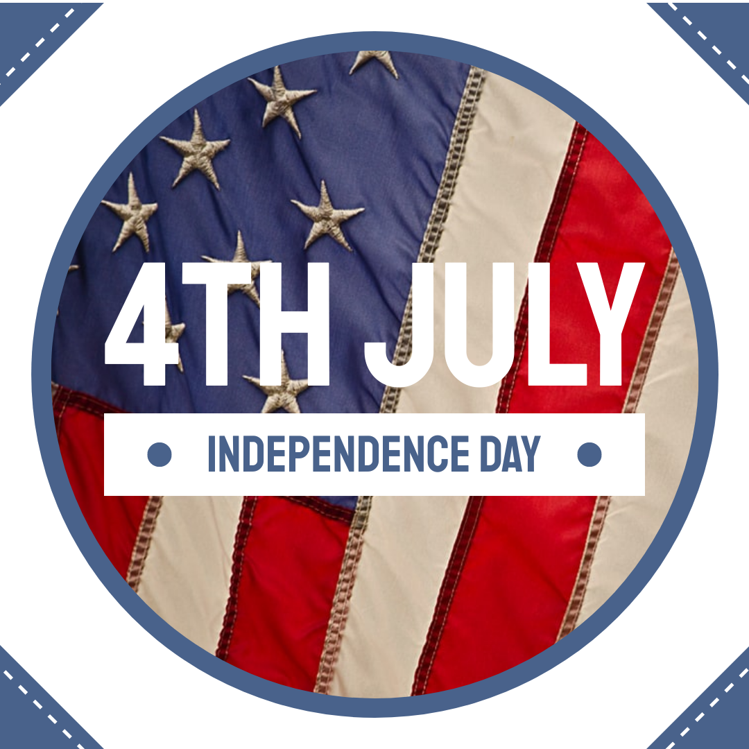 Instagram Post template: Circular Independence Day Instagram Post (Created by InfoART's Instagram Post maker)