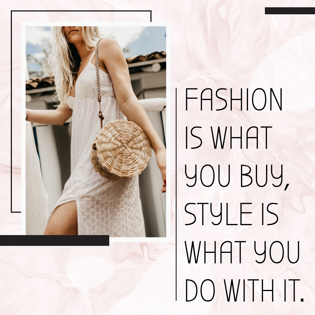 Instagram Post template: Fashion Style Quote Instagram Post (Created by InfoART's Instagram Post maker)