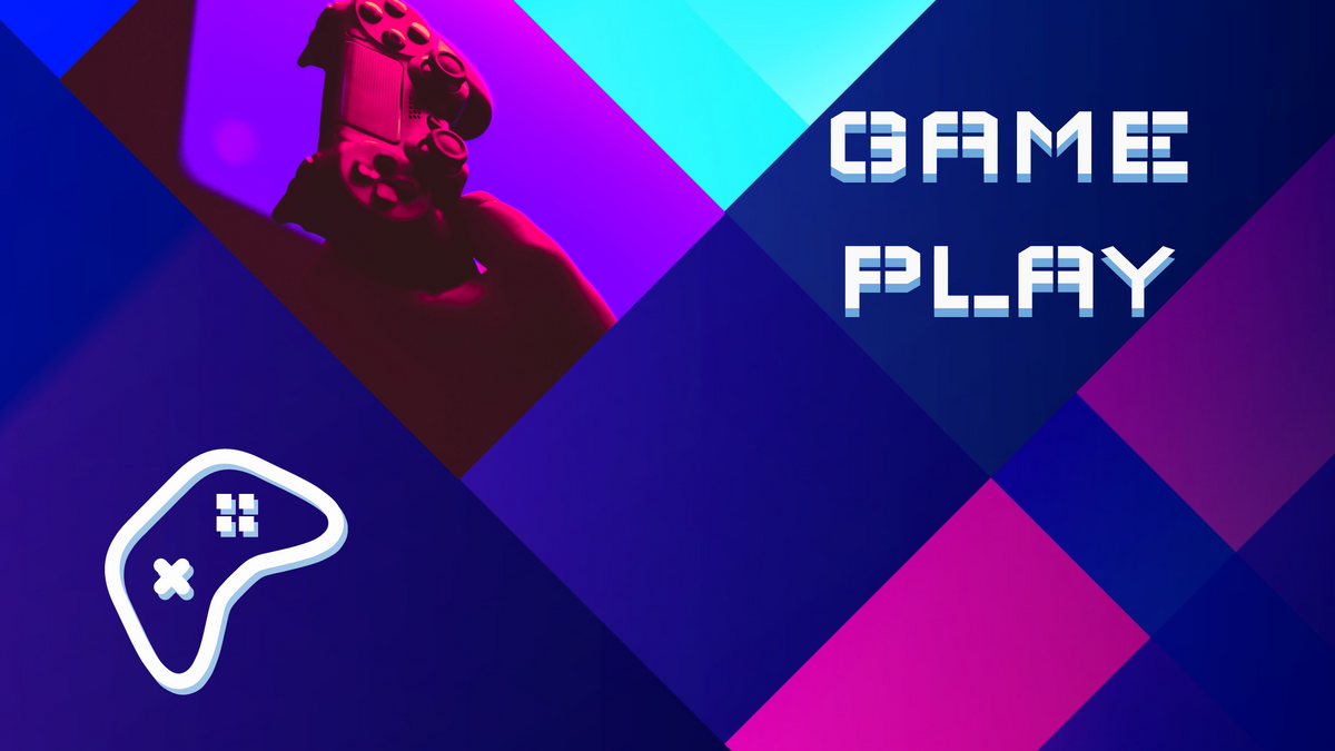 YouTube Channel Art template: Game YouTube Channel Art (Created by InfoART's YouTube Channel Art maker)