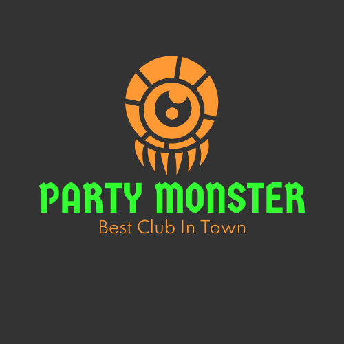 Logo template: Neon Party Logos (Created by InfoART's Logo maker)
