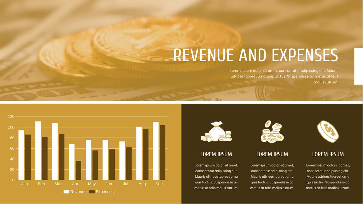 Grouped Column Chart template: Revenue And Expenses Grouped Column Chart (Created by Chart's Grouped Column Chart maker)