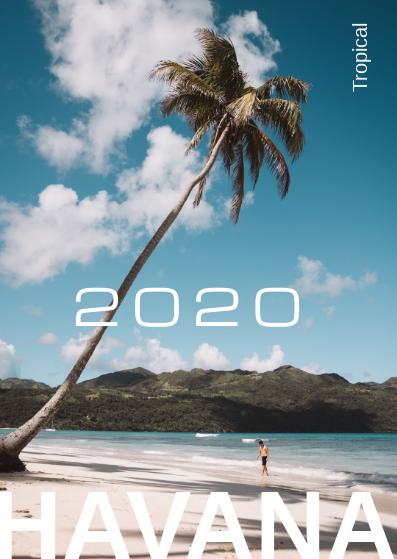 Postcard template: Tropical Postcard (Created by InfoART's Postcard maker)