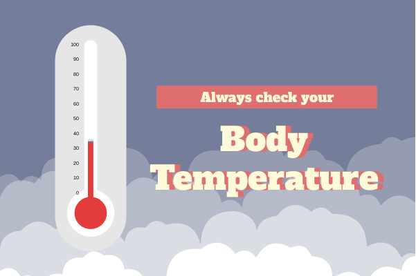 Medical template: Check Body Temperature (Created by InfoChart's Medical maker)