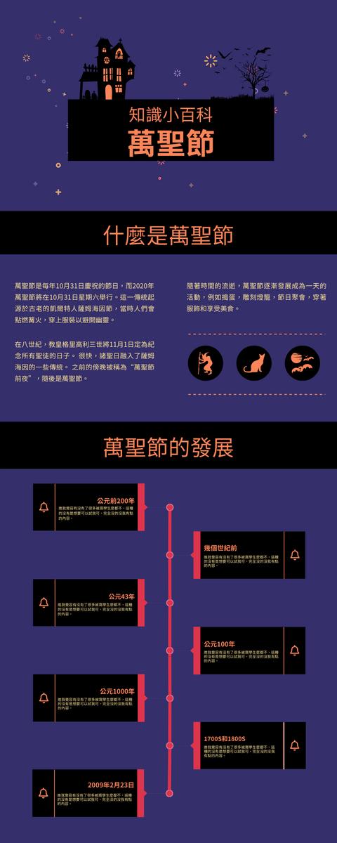 信息圖表 template: 萬聖節信息圖表 (Created by InfoART's 信息圖表 maker)