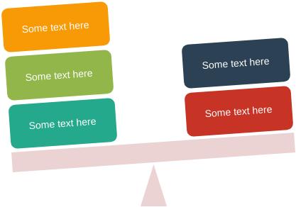 Relationship Block Diagram template: Unbalance (Created by Diagrams's Relationship Block Diagram maker)