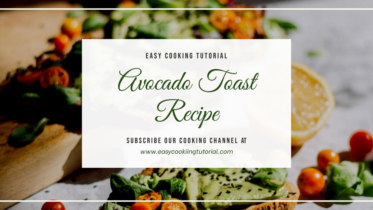 Twitter Post template: Cooking Recipe Channel Promotion Twitter Post (Created by InfoART's Twitter Post maker)