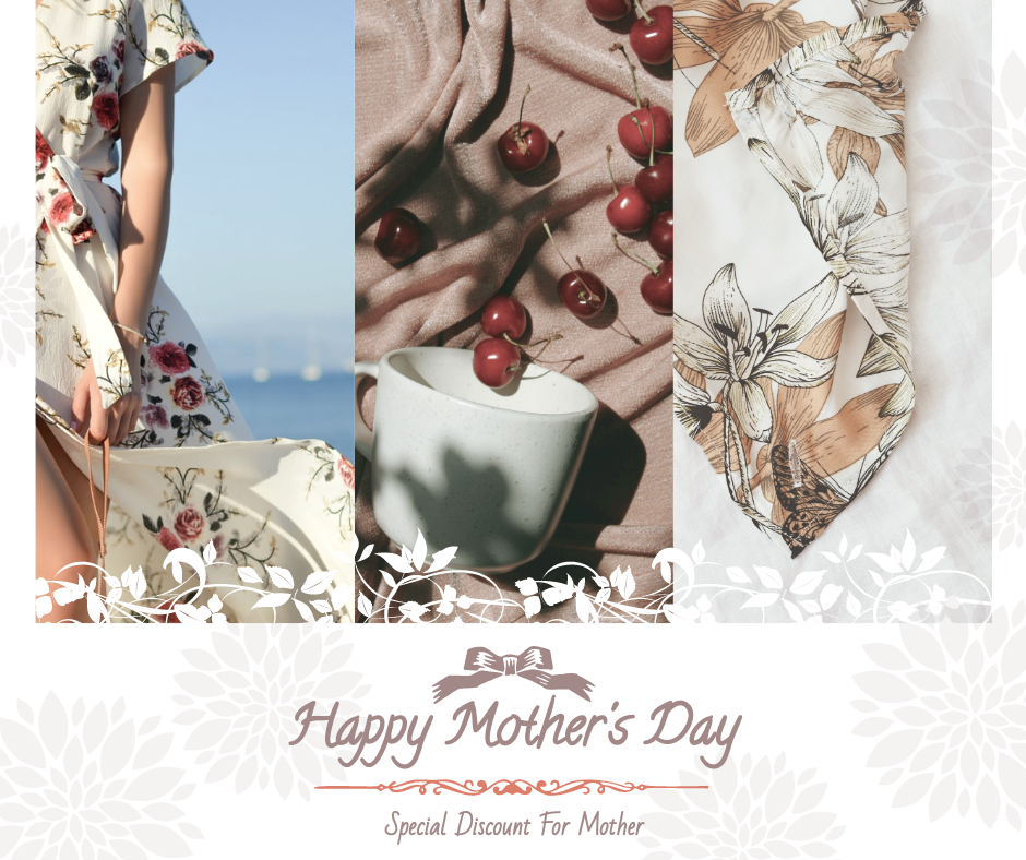 Facebook Post template: Mother's Day Special Sale Orange Facebook Post (Created by InfoART's Facebook Post maker)