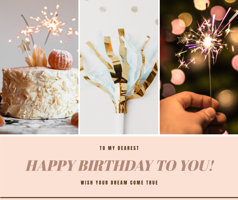 Facebook Post template: Happy Birthday To You Wishes Facebook Post (Created by InfoART's Facebook Post maker)