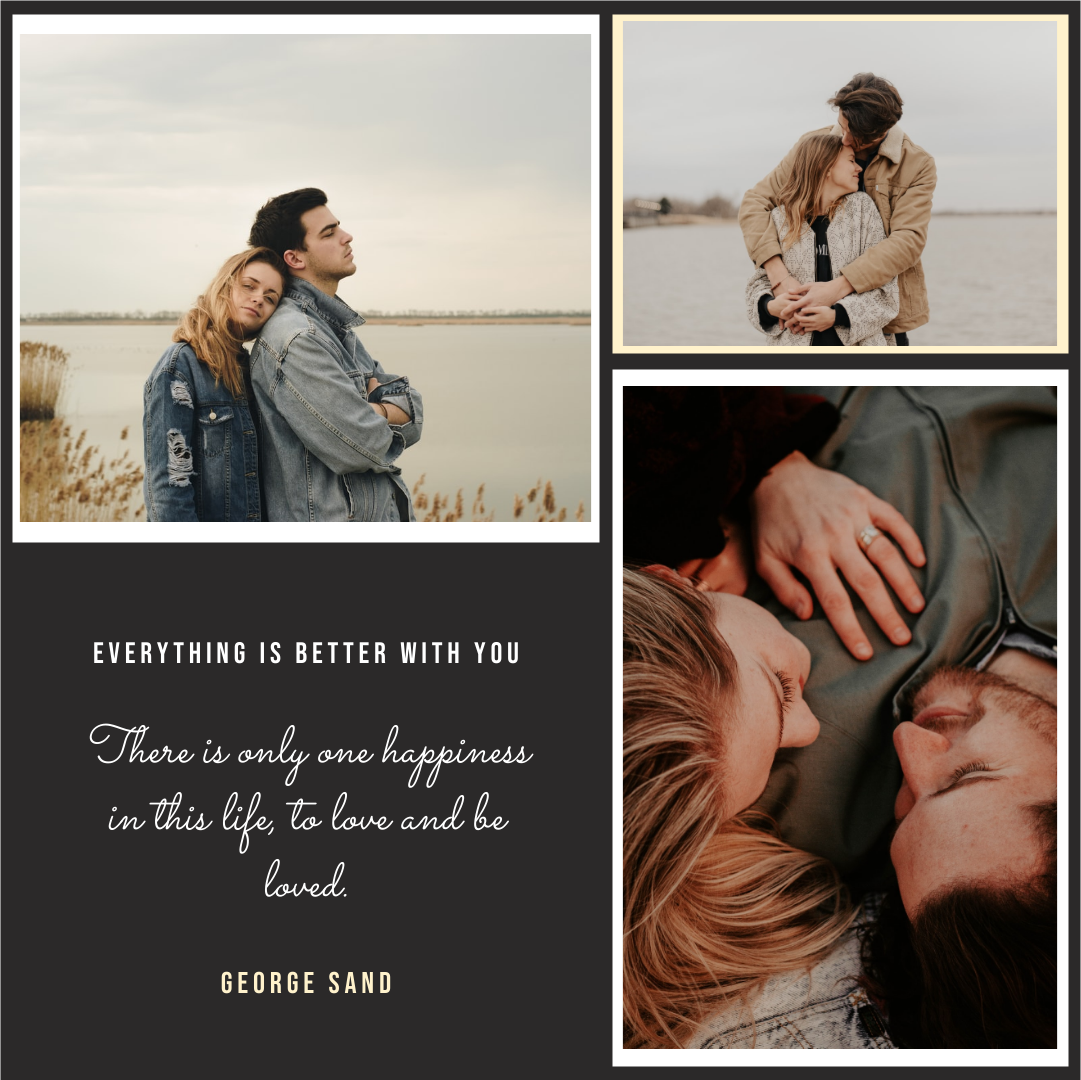 Instagram Post template: To Be Loved Instagram Post (Created by Collage's Instagram Post maker)