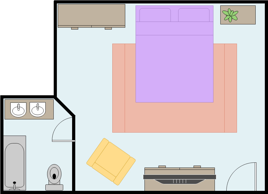 Master Bedroom (Bedroom Example)