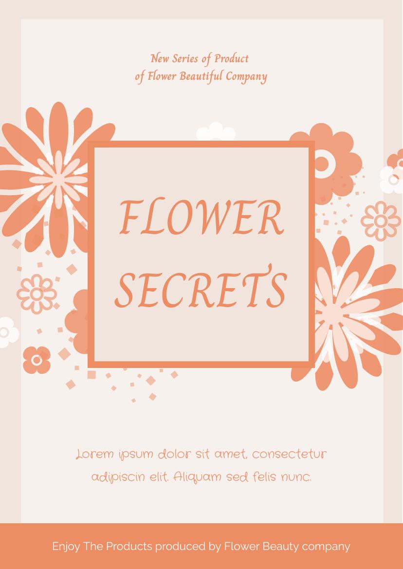 Flyer template: Beauty Product Flyer (Created by InfoART's Flyer maker)