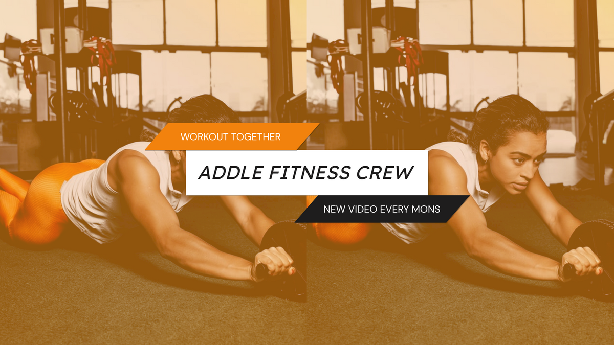 YouTube Channel Art template: Fitness Tutorial Crew Sports YouTube Channel Art (Created by InfoART's YouTube Channel Art maker)