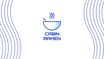 Business Card template: Cabin Ramen Business Cards (Created by InfoART's Business Card maker)