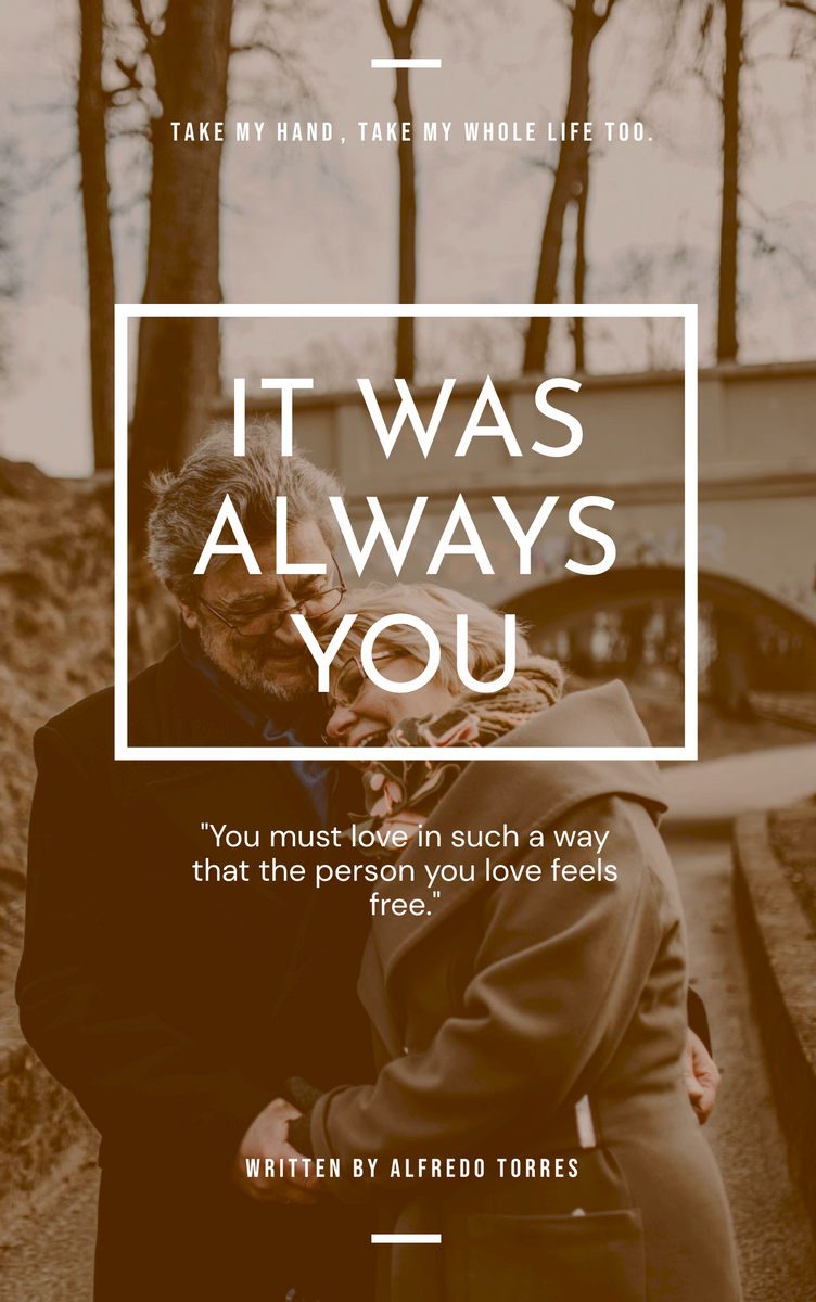 Book Cover template: It Was Always You Love Book Cover (Created by InfoART's Book Cover maker)