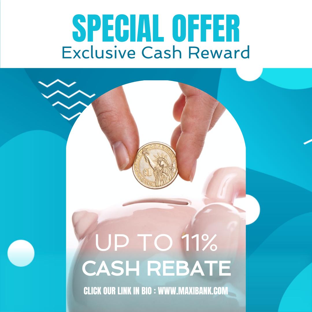 Instagram Post template: Exclusive Cash Reward Instagram Post (Created by InfoART's Instagram Post maker)