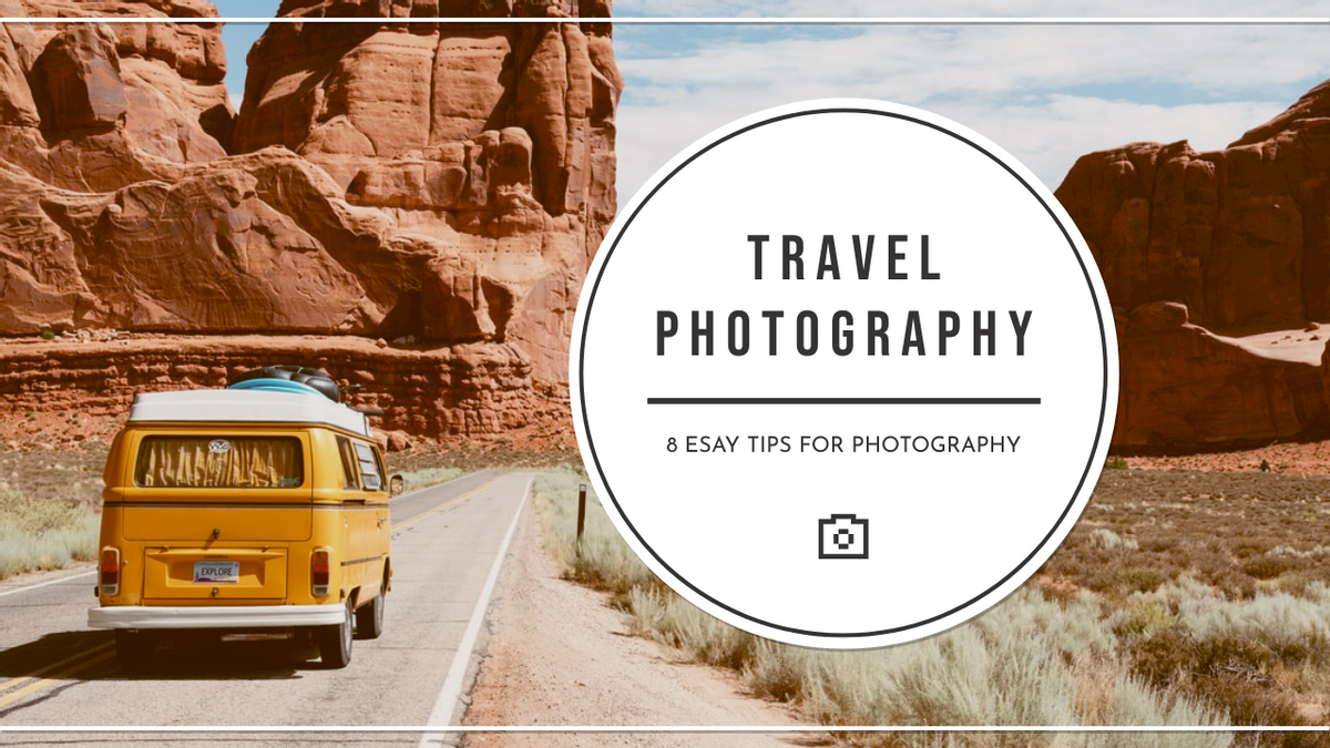 YouTube Thumbnail template: Travelling Photography Tips YouTube Thumbnail (Created by InfoART's YouTube Thumbnail maker)