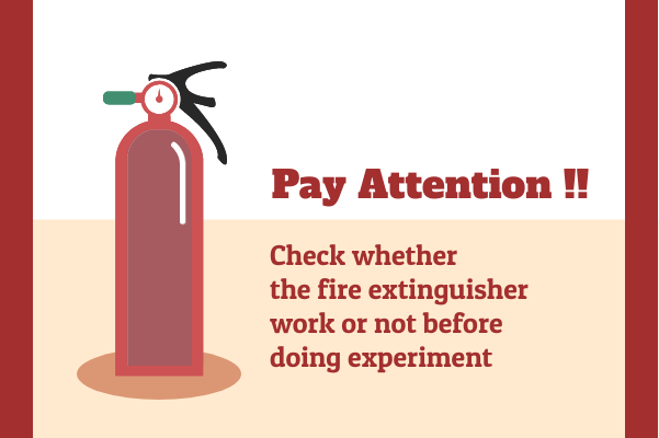 Laboratory template: Fire Extinguisher Checking (Created by InfoChart's Laboratory maker)